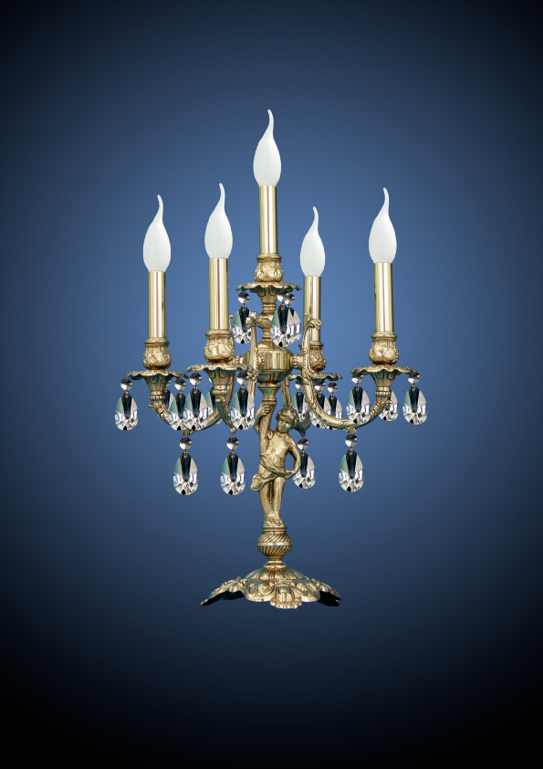 ejemplo candelabro restauración