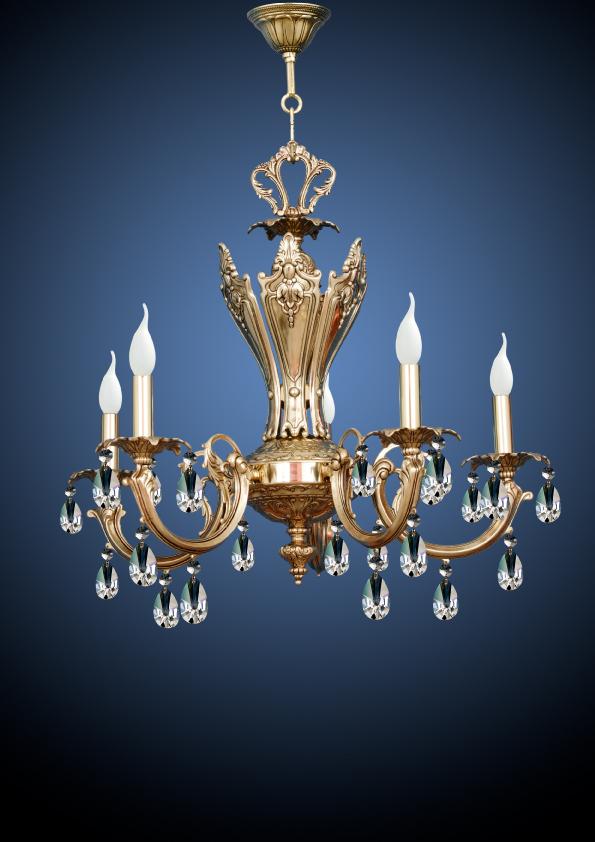 ejemplo lámpara restauración